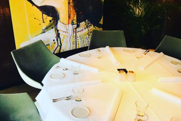 tafel bij La Provence